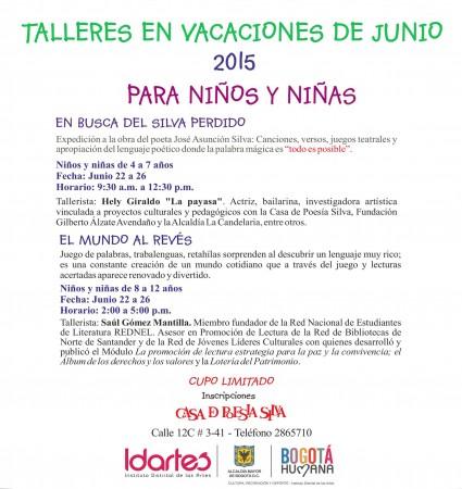 TALLER DE NIÑOS